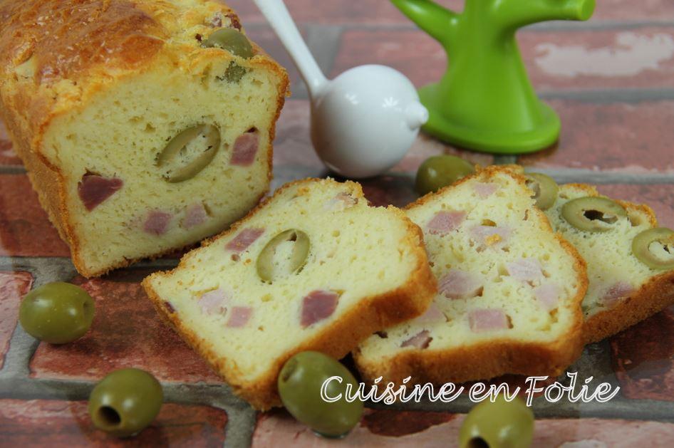 Cake Qu Avec Des Olives