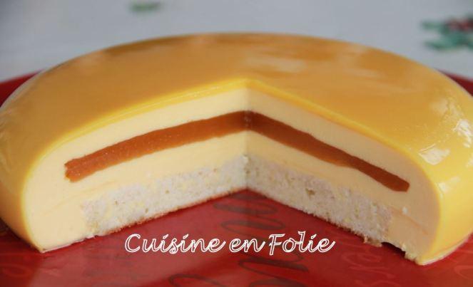 Entremets Fruits De La Passion Cuisine En Folie