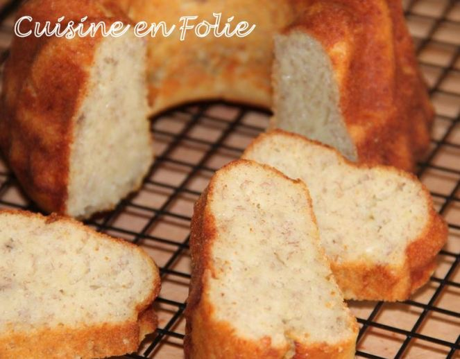 Banany Cake