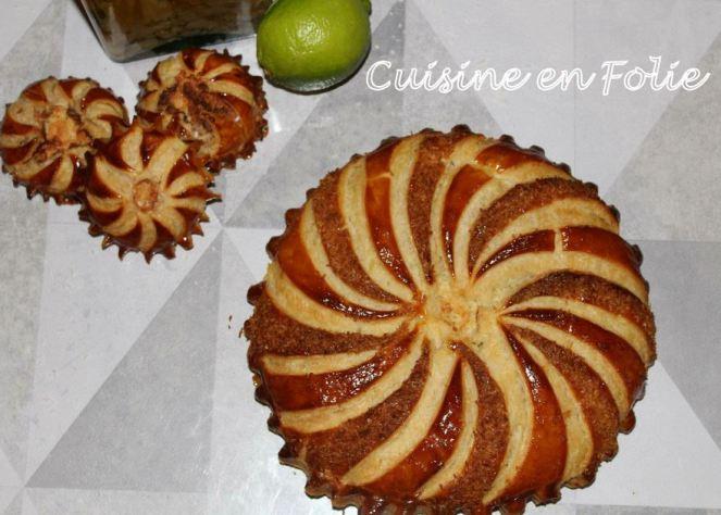Galette coco-citron