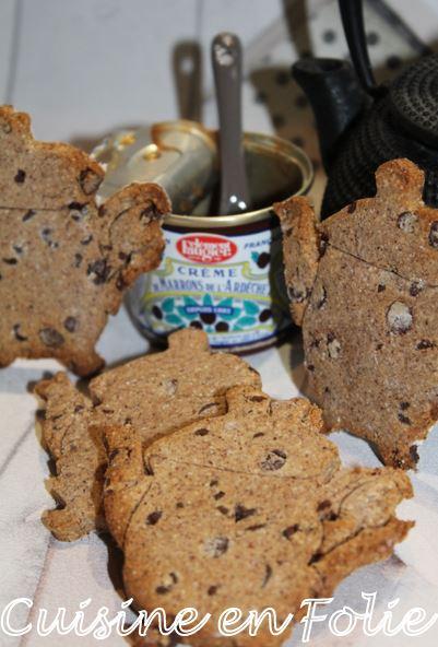 Mes p'tea biscuits
