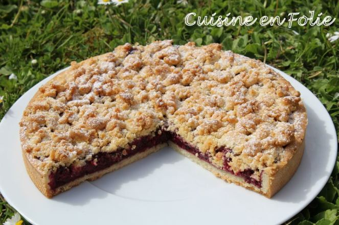 Non crostata aux fruits rouges