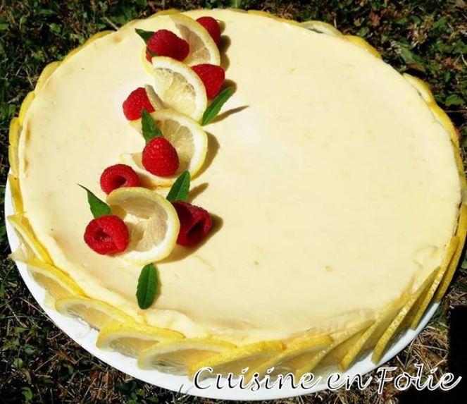 Cheese cake au citron