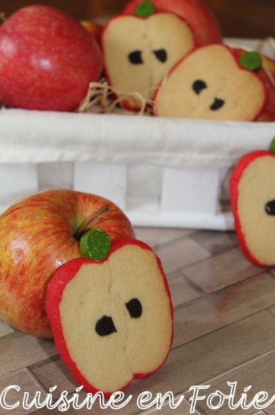 Sablés pommes