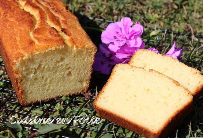 Cake citron vert -coco