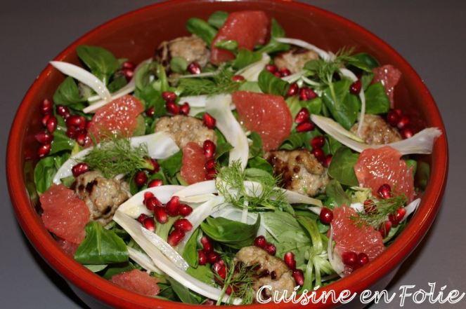 Salade acidulée