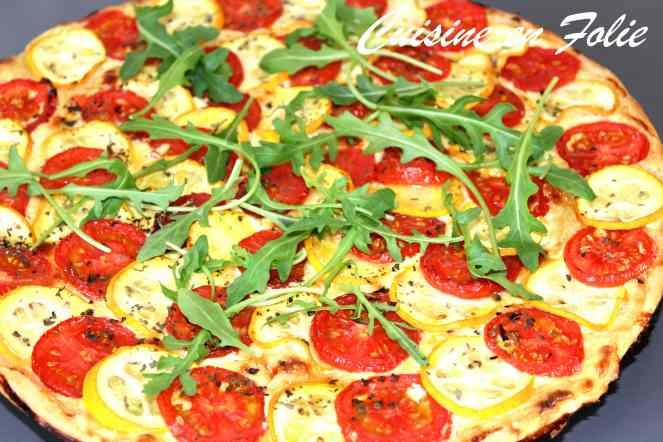 Tarte fine tomate et courgette-min